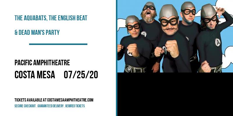 The Aquabats, The English Beat & Dead Man's Party at Pacific Amphitheatre
