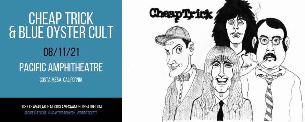 Cheap Trick & Blue Oyster Cult at Pacific Amphitheatre