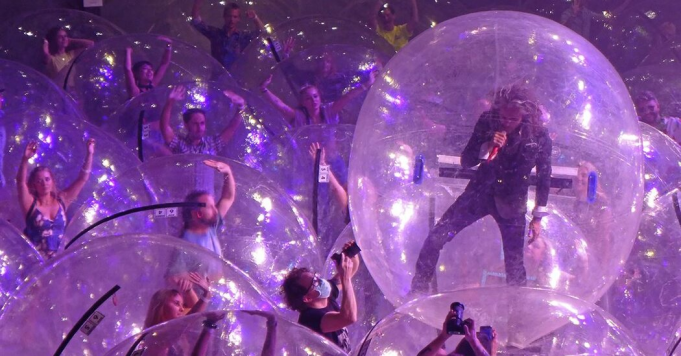 The Flaming Lips at Pacific Amphitheatre