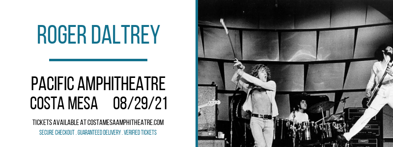 Roger Daltrey [CANCELLED] at Pacific Amphitheatre