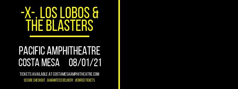-X-, Los Lobos & The Blasters at Pacific Amphitheatre